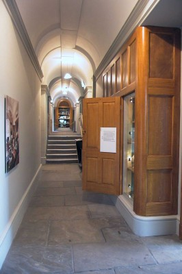 Harewood House in Leeds has interesting corridors to explore with your family