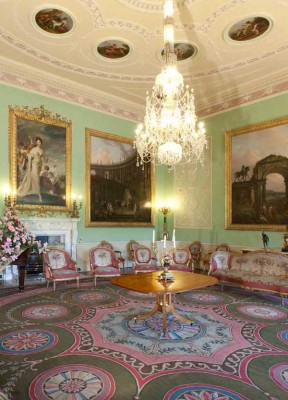 Enjoy the Music Room in Harewood House in Yorkshire