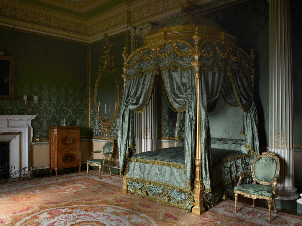The Stat Bedroom at Harewood House in Leeds