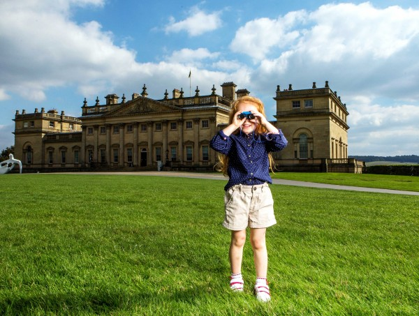 School trips to Harewood House in Yorkshire