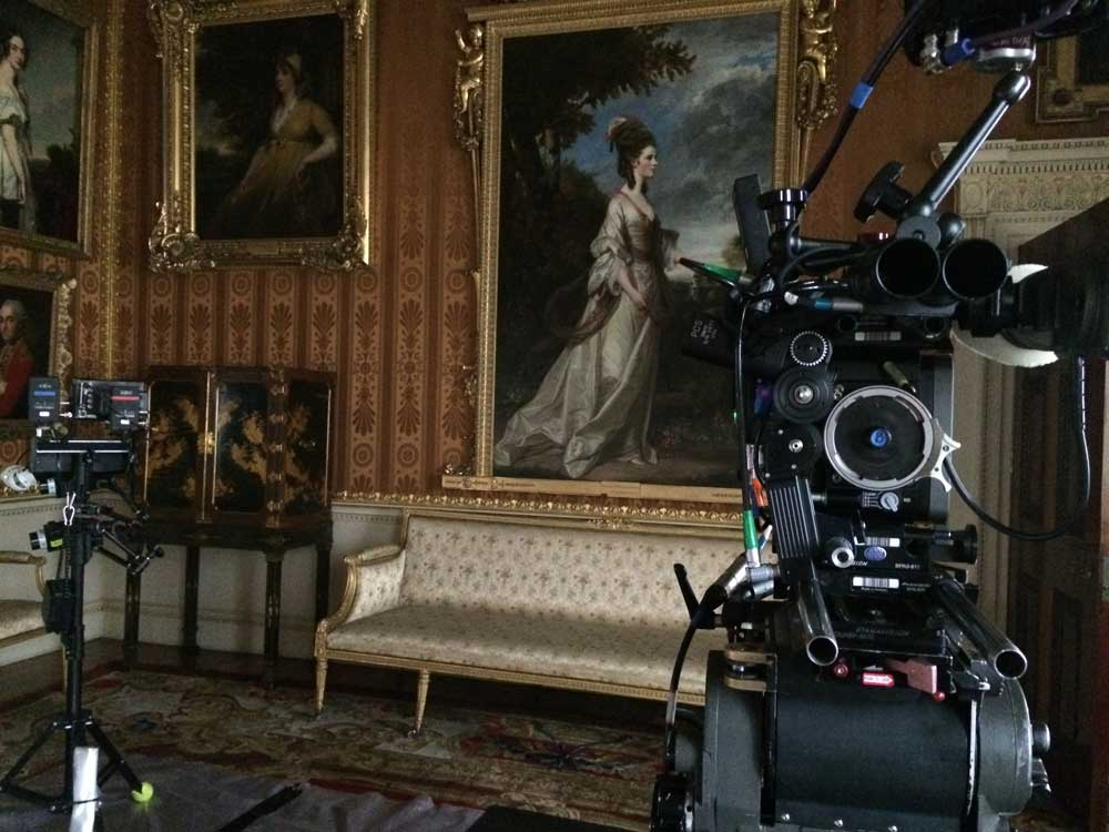 Visit Yorkshire to see ITV's Victoria location at Harewood