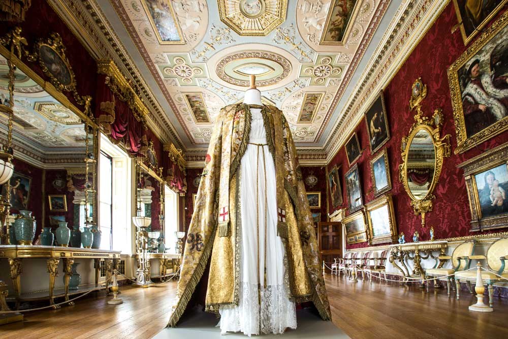 Visit Harewood House to see ITV's Victoria costume