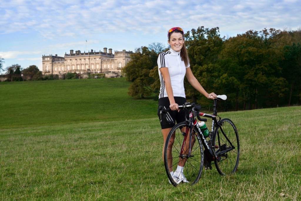 Olympic support from Lizzi Armistead for the Festival of Cycling