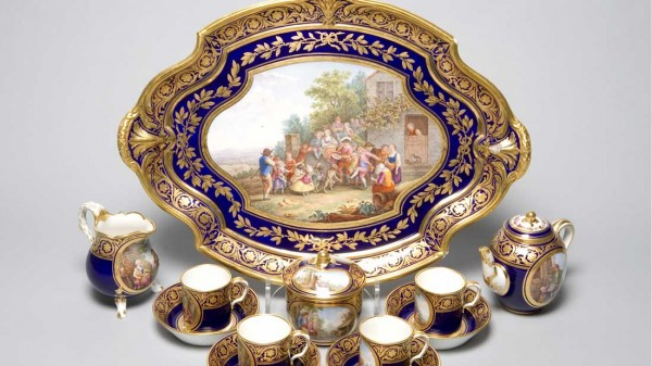 Harewood House has rare serves on display