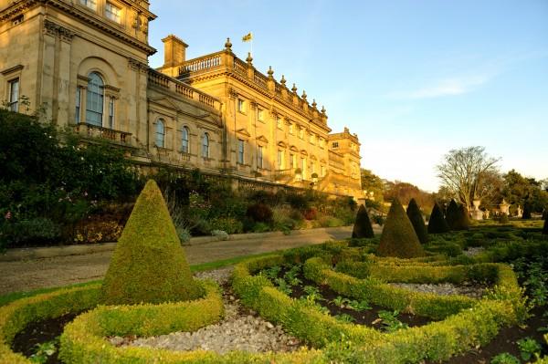 Harewood has a Victorian terrace garden
