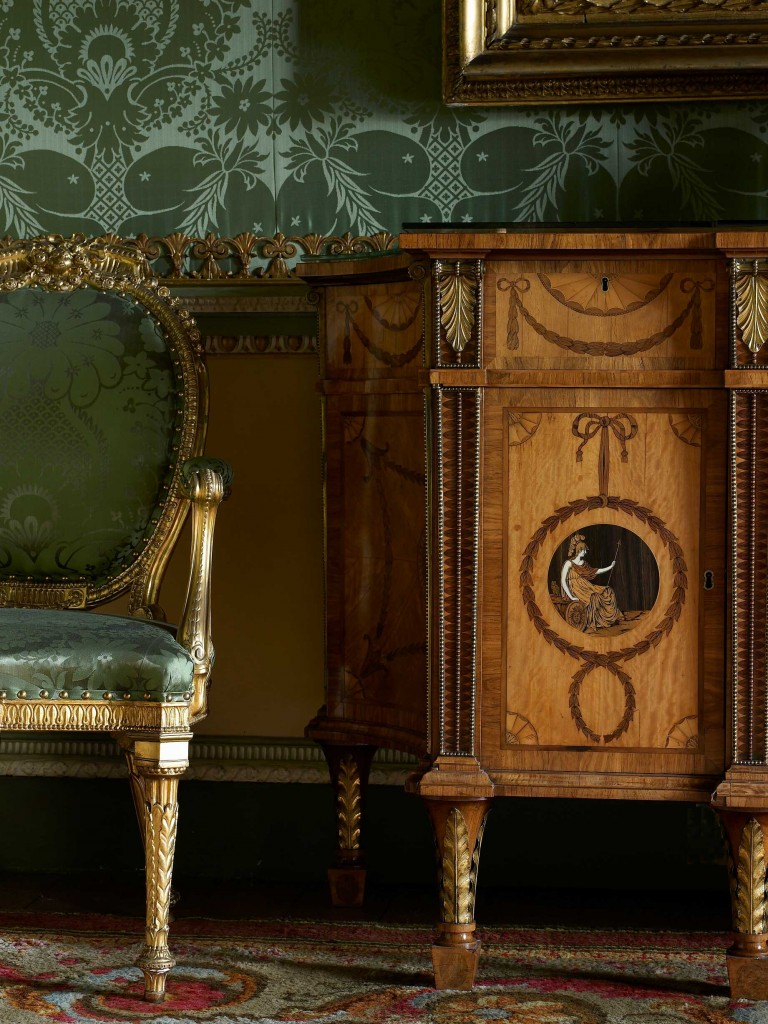 Harewood House in Yorkshire has beautiful furniture