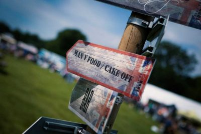 Food festival family day out at Harewood, Leeds