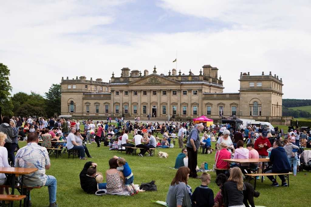 Great British Food Festival at Harewood House, West Yorkshire