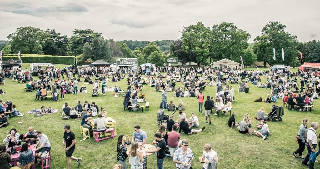 Food festival at Harewood House, Leeds