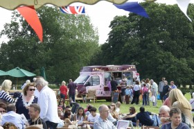 Great British Food Festival at Harewood in Yorkshire