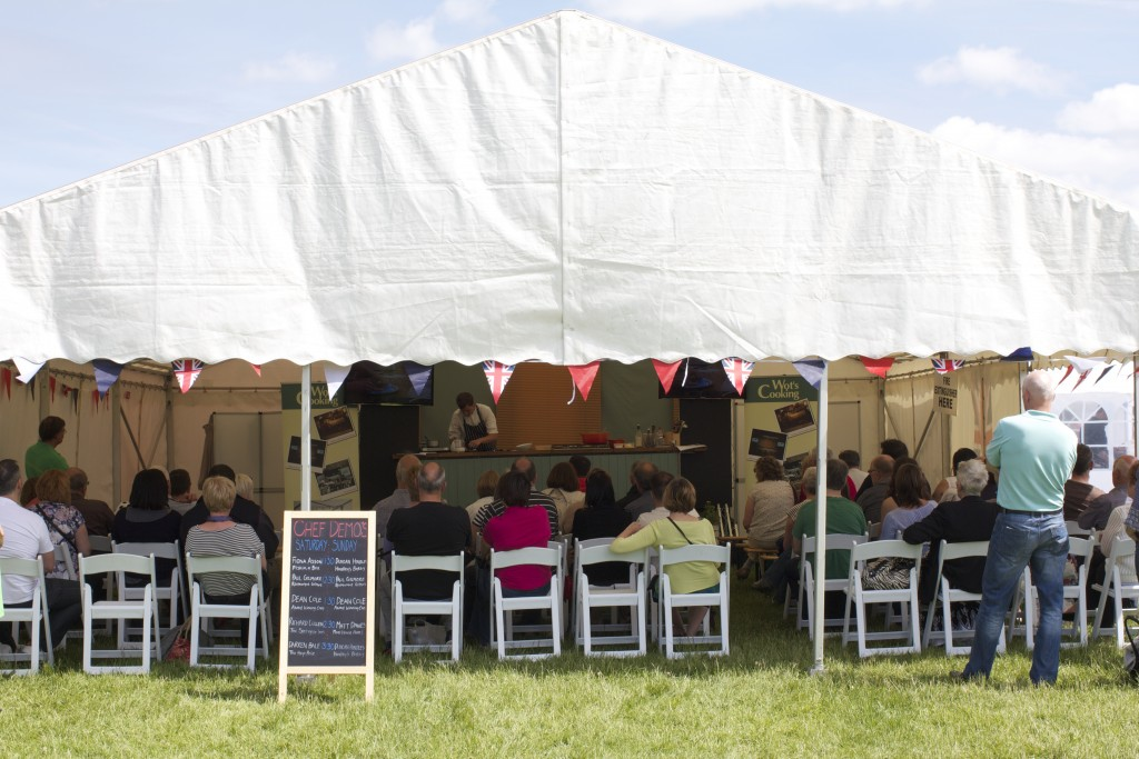 Enjoy good food at the Food Festival at Harewood