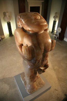 Adam is an Epstein sculpture that is at Harewood House in Yorkshire