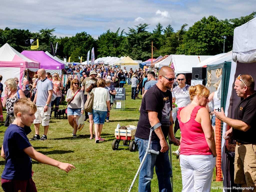 Festival at Harewood House, Yorkshire