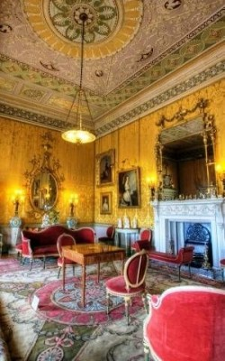 yellow drawing room � harewood house