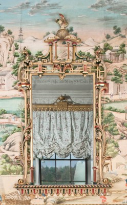 Visit Harewood House to see Chippendale mirrors