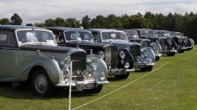 Rolls Royce, car show at Harewood, Leeds