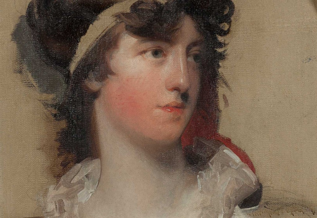 Thomas Lawrence painted at Harewood House