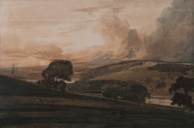 Watercolour paintings at Harewood are on display all season