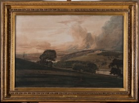 Girtin painted at Harewood House in Yorkshire