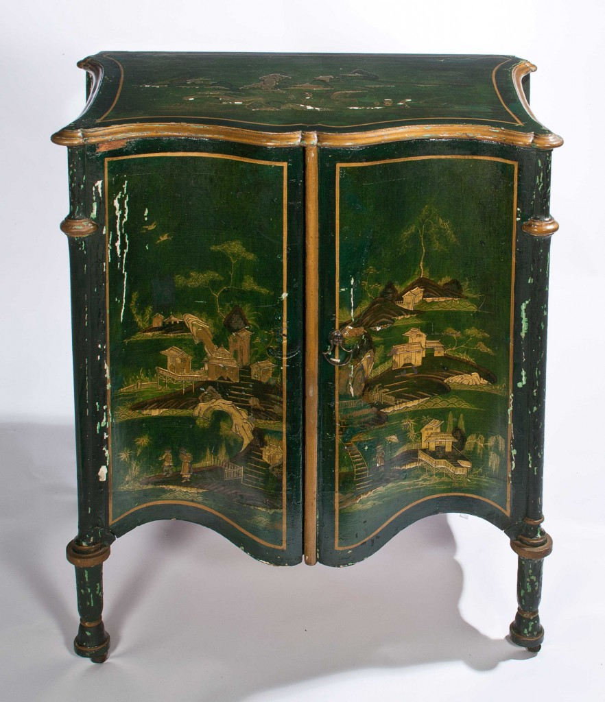 Chippendale Furniture Japanned Night Tables Harewood House