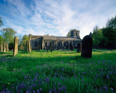 Harewood House has a church you can visit