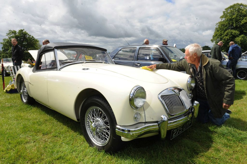 Yorkshire Post Motor Show & Classic Car Rally 2019 at Harewood House, Leeds