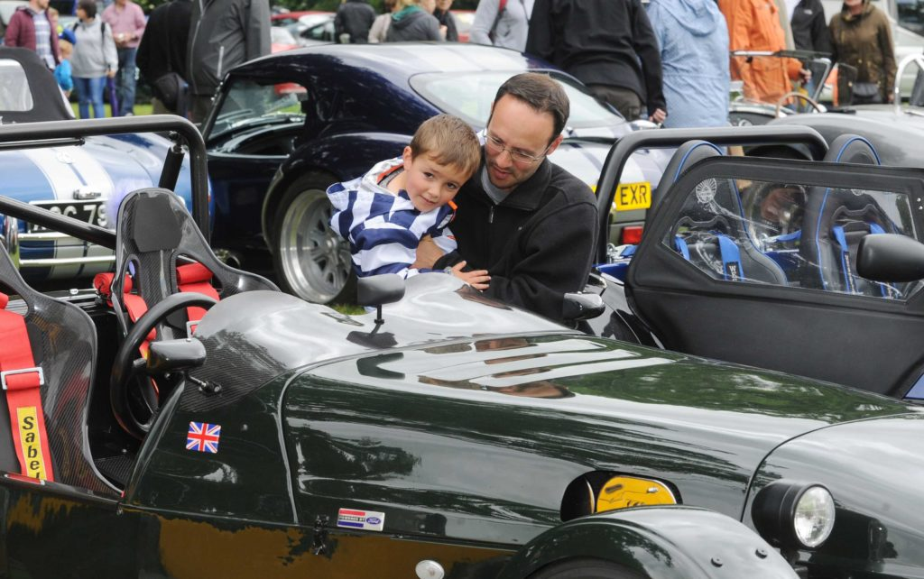 Father's day Motor Show & Classic Car Rally at Harewood, Leeds