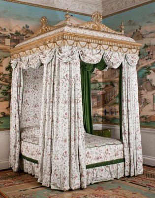 Chippendale bed designed for Harewood