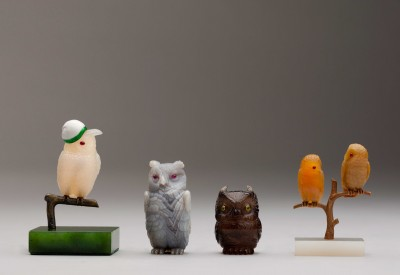 Princess Mary's Faberge owls