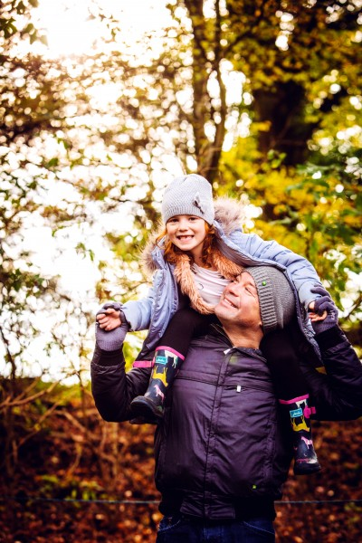 Family adventures in autumn