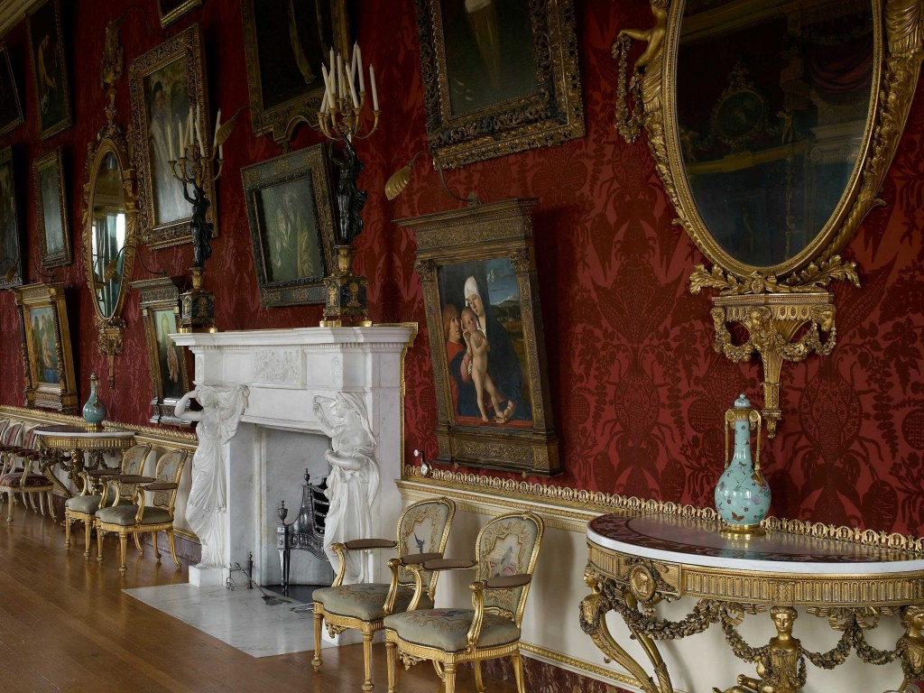 Harewood House in Yorkshire is a popular place to visit