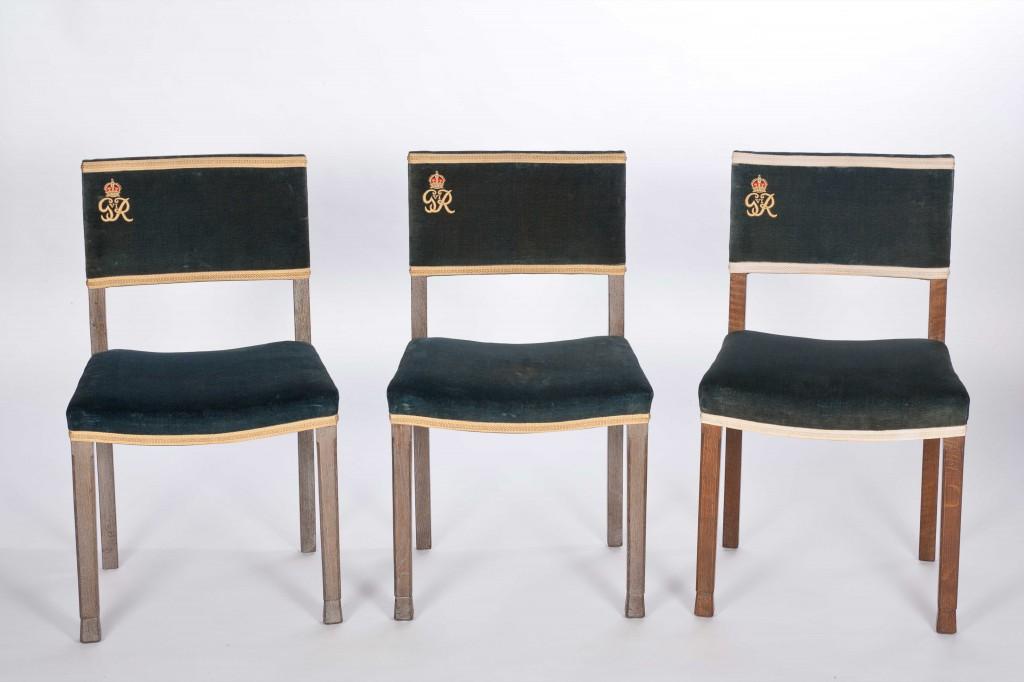 George IV coronation chairs at Harewood