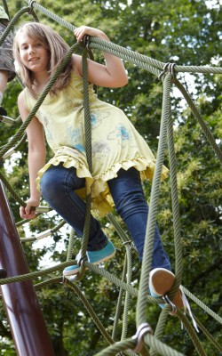 Harewood House in Yorkshire has an adventure playground