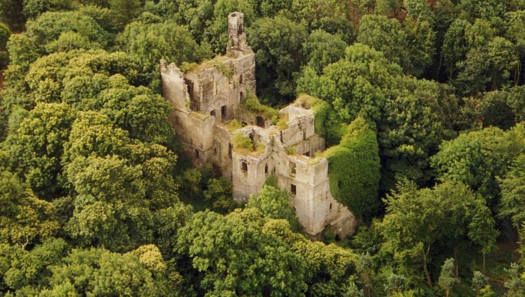 Harewood Castle in Yorkshire
