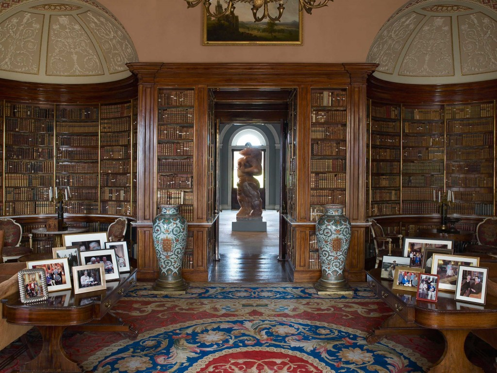 Harewood House in Yorkshire is open to the public