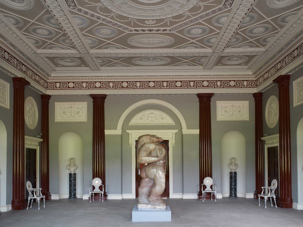 The Entrance Hall at Harewood House in Yorkshire
