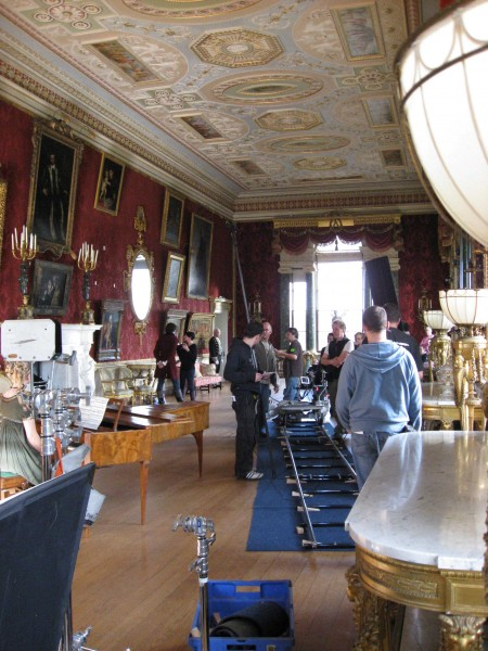 Harewood House in Yorkshire is ideal for filming