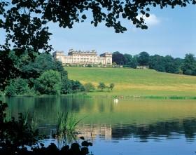 Explore the lake at Harewood House