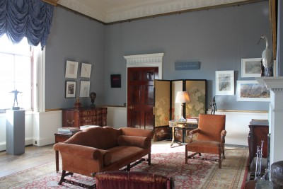 Lord Harewood's Sitting Room at Harewood House in Yorkshire