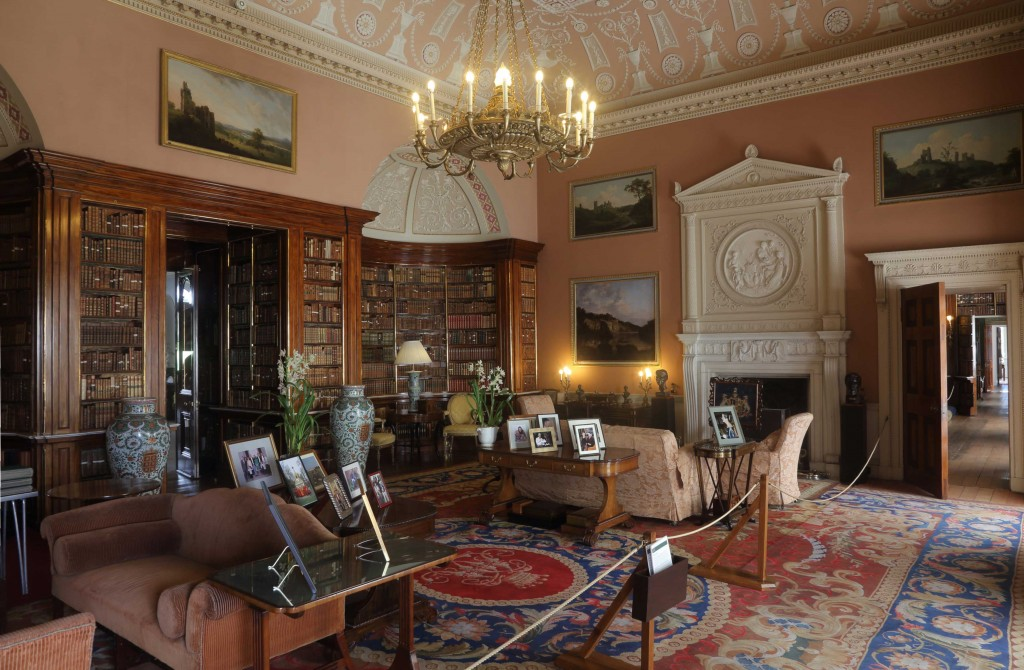 Main Library at Harewood House Trust in Leeds
