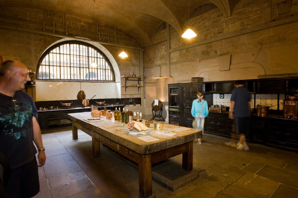Families enjoy The Old Kitchen at Harewood House in Harrogate