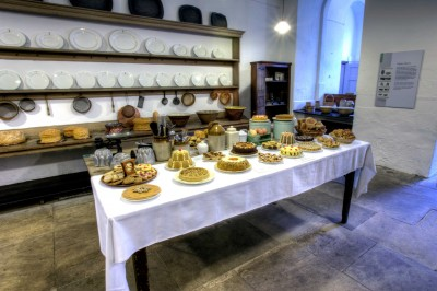 Harewood House in Yorkshire has a pastry room you can explore