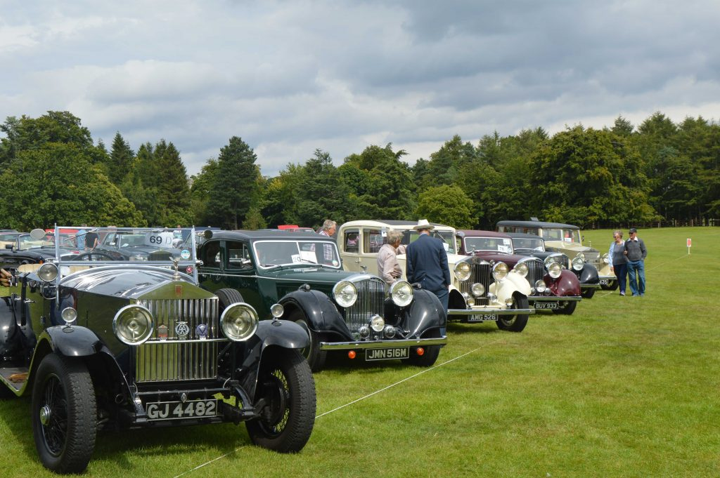 Rolls Royce Car Show at Harewood, Leeds
