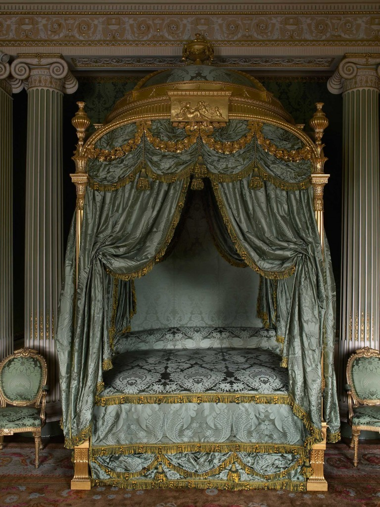 Visit Harewood in Harrogate and see Chippendale beds