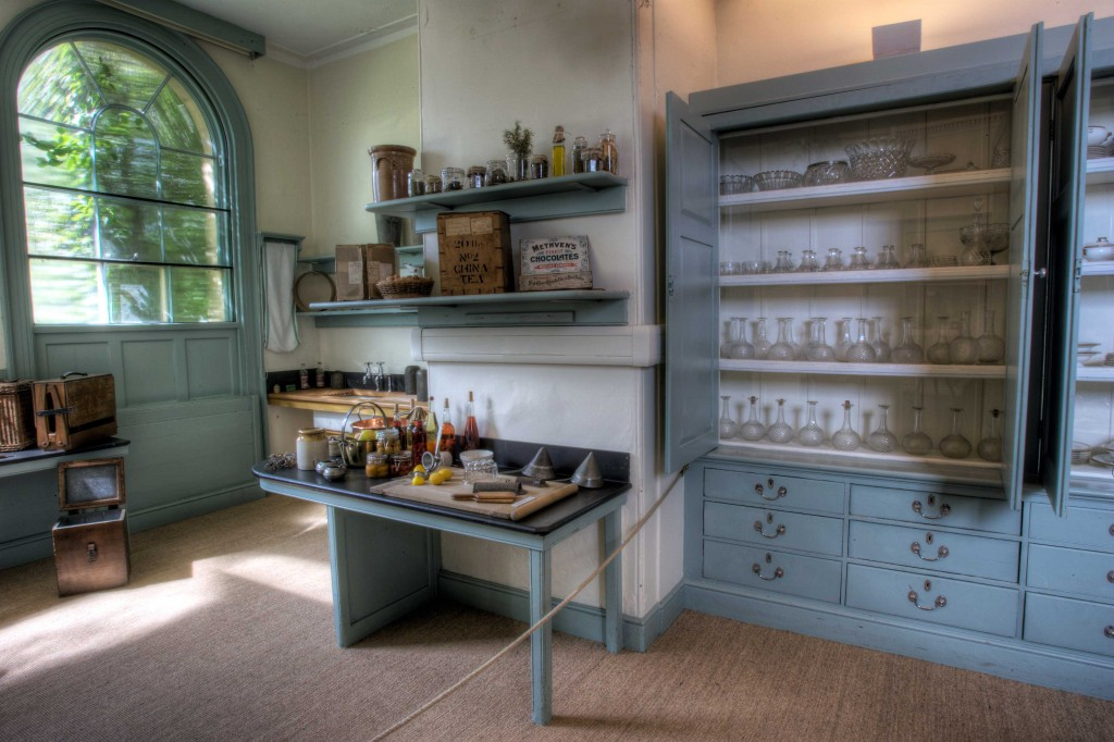 Preservatives were made in The Still Room at Harewood House in Yorkshire
