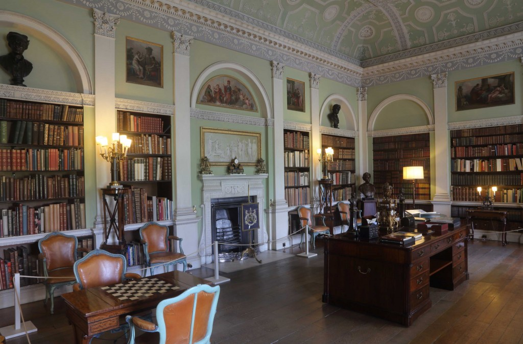 Old Library at Harewood House Trust