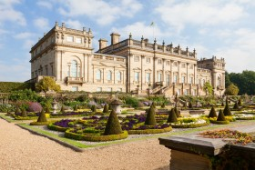 Gardens at Harewood in Yorkshire