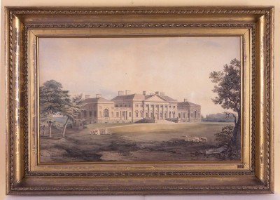 Work by John Varley is on display at Harewood House in Yorkshire