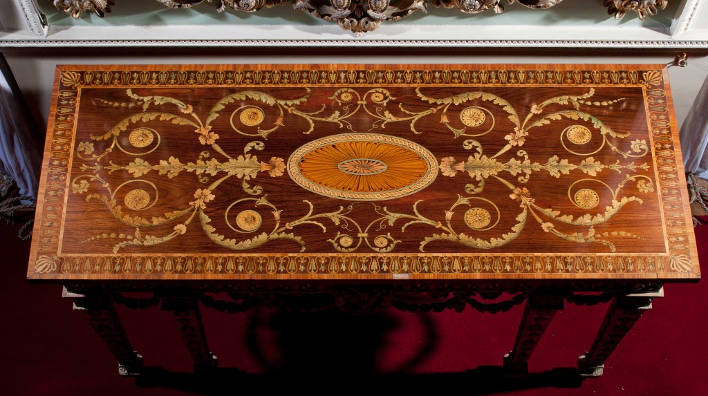 Chippendale furniture designed for Harewood House near York