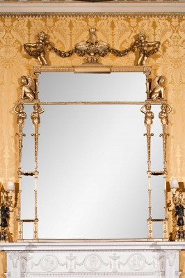 Harewood House Yorkshire has Chippendale mirrors
